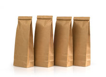 Kraft paper packages Royalty Free Stock Photos