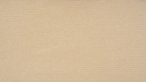 Kraft Paper Texture. With horizontal stripes for background Stock Image