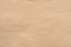 Kraft papieru tekstura Zdjęcie Stock