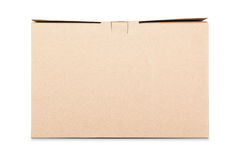 Kraft pappers- ask arkivfoto