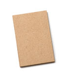 Kraft postal card Stock Photography