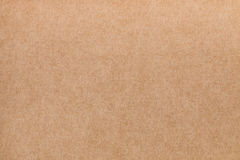 Kraft textured background Stock Images
