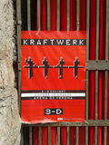 Krafter音乐会海报在维罗纳 免版税库存图片