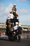 krafter för försvarskärmutställning Royaltyfri Foto