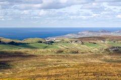 Kraftfull Co Donegal landskap, Irland arkivfoton