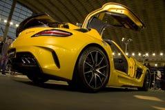 Kraftig bil för AMG Mercedes royaltyfri fotografi