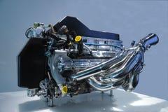 kraftig bilmotor Arkivbilder