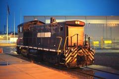 Kraftig diesel- lokomotiv Royaltyfri Bild