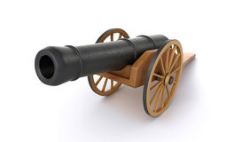Gammal kanon Fotografering för Bildbyråer