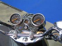 kraftig motorcykel Arkivbilder