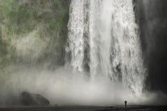 Kraftig natur Fotografering för Bildbyråer