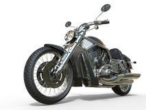 Kraftig tappningmotorcykel - Closeup stock illustrationer