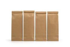 Kraftpapier-document pakketten royalty-vrije stock foto