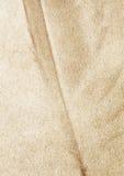 Kraftpapier mit Federschattenbild Lizenzfreies Stockbild