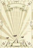 Kraftpapier van het circus achtergrond Royalty-vrije Stock Afbeeldingen