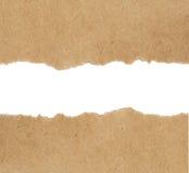 Kraftpapierhintergrund lizenzfreie stockfotos