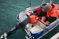 Kraftstoff für Motorboot Lizenzfreie Stockfotografie