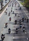 Kraftstoff-Protest stockfotografie