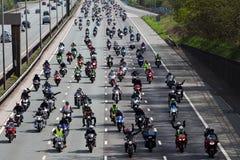 Kraftstoff-Protest lizenzfreies stockfoto