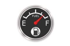 Kraftstoffanzeige Lizenzfreie Stockbilder