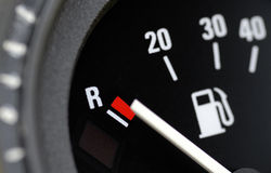 Kraftstoffanzeige stockbilder