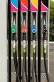 Kraftstoffpumpedüsen stockbilder