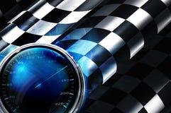 Kraftstoffschauzeichen Lizenzfreies Stockfoto