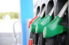 Kraftstoffstation Stockfoto