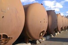 Kraftstofftanks Lizenzfreie Stockfotos