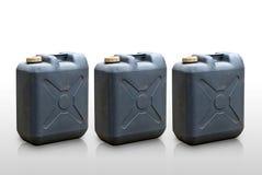 Kraftstofftanks, getrennt Stockbild