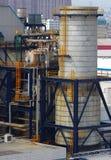 Kraftverk för gasturbin Arkivbild