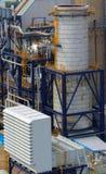 Kraftverk för gasturbin royaltyfri fotografi