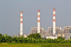 Kraftverk för kombinerad cirkulering för naturgas arkivfoton