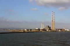 Kraftverk Poolbeg, Dublin Royaltyfri Fotografi