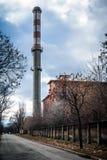 Kraftwerkäußeres Stockbild