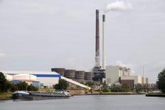 Kraftwerk Datteln - Германия Стоковое фото RF