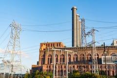 Kraftwerk der elektrischen Leistung lizenzfreie stockfotos