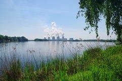 Kraftwerk Jaenschwalde Imagens de Stock Royalty Free