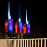 Kraftwerk Linde in Hannover Lizenzfreies Stockfoto