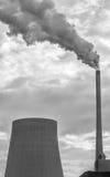 Kraftwerk-Rauchverschmutzung Lizenzfreies Stockbild