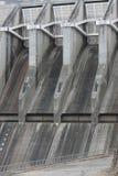 Kraftwerk Spillway Stockbilder