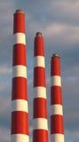 Kraftwerk-Stapel Stockfoto