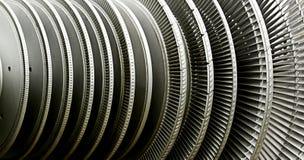 Kraftwerk-Turbine Stockfoto