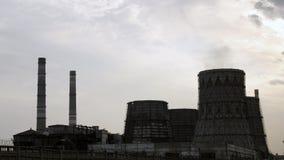 Kraftwerk-Zeitspanne stock footage
