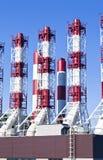 Kraftwerkrohre Lizenzfreies Stockbild