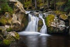 Krai Woog Gumpen瀑布 库存照片