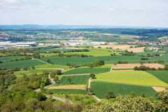 Kraichgau landscape Royalty Free Stock Photo