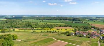 Kraichgau landscape Royalty Free Stock Images
