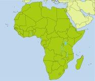 Kraj afrykański Zdjęcia Royalty Free