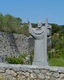 Kraj auf der kroatischen Insel Pasman Stockbild